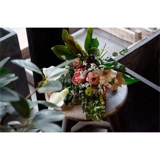 Bouquet(Pink/Beige)
