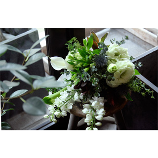 Bouquet(White/Green)